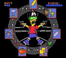 juego virtual bart: